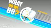 蓝条黄条工作室企业公司宣传介绍ae模板Business.Promo