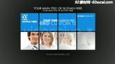 晶格方块商务图文企业推广栏目包装AE模板Corporate Presentation