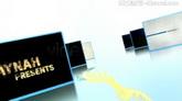 七彩粒子流动3D视频图片介绍信息展示AE模板 V-Presentation