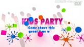 七彩生活儿童欢乐模板Kid Party Joyful Event