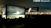 3d立方体都会视频盒大屏幕图文展现AE模板 Energy City