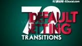 百叶窗过渡转场栏目包装AE模板 Transitions Pack Blinds Vol.1
