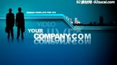 藍色科技公司商務宣傳片ae模板