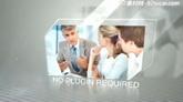 商务商业人物图片ae模板工程文件