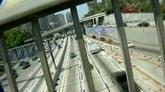 城市车流交通堵车镜头高清实拍视频素材