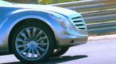 汽车公?#25151;?#36895;行驶特写镜头高清实拍视频素材