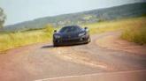 汽车快速行驶镜头高清实拍视频素材