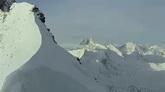 航拍西藏雪山风景高清实拍视频素材