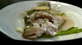 美食佳肴清蒸鱼制作过程高清实拍视频素材