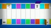 五彩斑斓方块转动高清背景视频素材