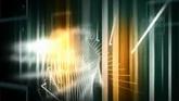 科技金融線條交替路徑3高個清背景視頻素材