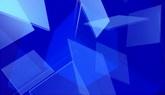 蓝色透明块一组高清背景视频素材