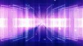 旋转的透明色块一组高清背景视频素材