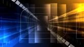 商务科技追踪路径背景一组高清背景视频素材
