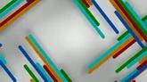 丰富多彩的色条高清背景视频素材
