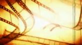 怀旧胶片转动高清背景视频素材