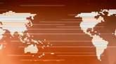 金融科技地图高清背景视频素材