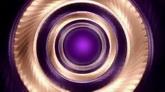 紫色漩涡旋转高清背景视频素材