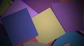 彩色紙片疊落高清背景視頻素材
