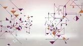 粉色三角钻石流动高清背景视频素材