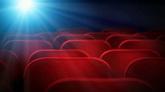 投影观众席高清背景视频素材