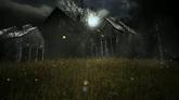 林中小屋高清背景视频素材