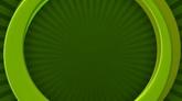 绿色圆圈转动高清背景视频素材