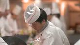 廚師美食人物吃美食高清實拍視頻素材