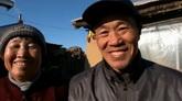 人物笑脸 面对镜头微笑高清实拍视频素材