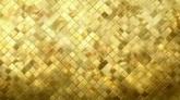 闪耀的金色马赛克耀眼的高清动态背景视频素材