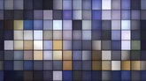 冷色系流动的闪耀光斑马赛克高清背景动态视频素材