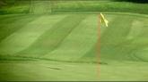 高尔夫球场 标旗高清实拍视频素材