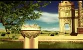 婚庆庆典 浪漫的婚礼欧式城堡 高清动态背景视频素材