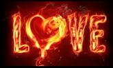 婚庆庆典 火焰燃烧的LOVE 爱 高清动态背景视频素材