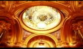 婚庆庆典 金碧辉煌宫殿唯美天花板风景高清动态背景视频素材