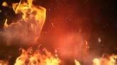 特效素材 燃烧的火焰高清动态背景视频素材