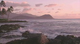 海岸线风光 高清实拍视频素材