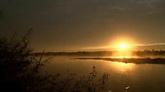 清晨湖面雾气风光美景高清实拍视频素材
