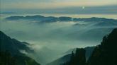 山峰云雾缭绕自然风光美景高清实拍视频素材