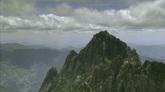云层下面的山峰自然风光美景高清实拍视频素材