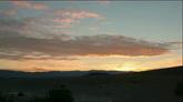 云层飘过晚霞自然风光美景2个高清实拍视频素材