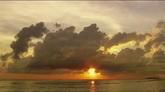 霞光万丈自然风光美景高清实拍视频素材