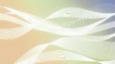 白色飘带流动高清动态背景视频素材