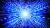 蓝色光芒乍现高清动态背景视频素材