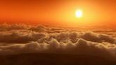 云烟滚滚 日出与日落2个高清动态背景视频素材