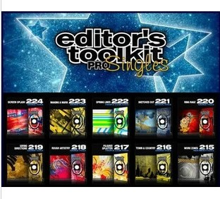 最全組合視頻素材庫1-224 Digital Juice Editor's Toolkit Pro 1
