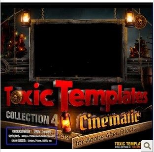 DJ最新电影AE超强模板Digital Juice Toxic Templates Collection