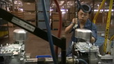 发动机生产车间镜头高清实拍视频素材