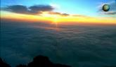 風景超美 峨眉山日出云海高清實拍視頻素材