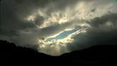庐山风景区云烟缭绕 字幕 高清实拍视频素材